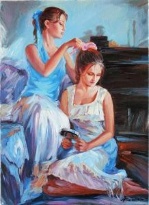 figurative_art_mother_and_daughter_oil_painting_on_canvas_1b2d9065[1]