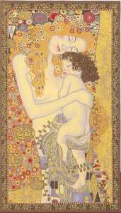 mother-and-child-klimt